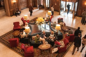 Lobby of the Chateau Laurier